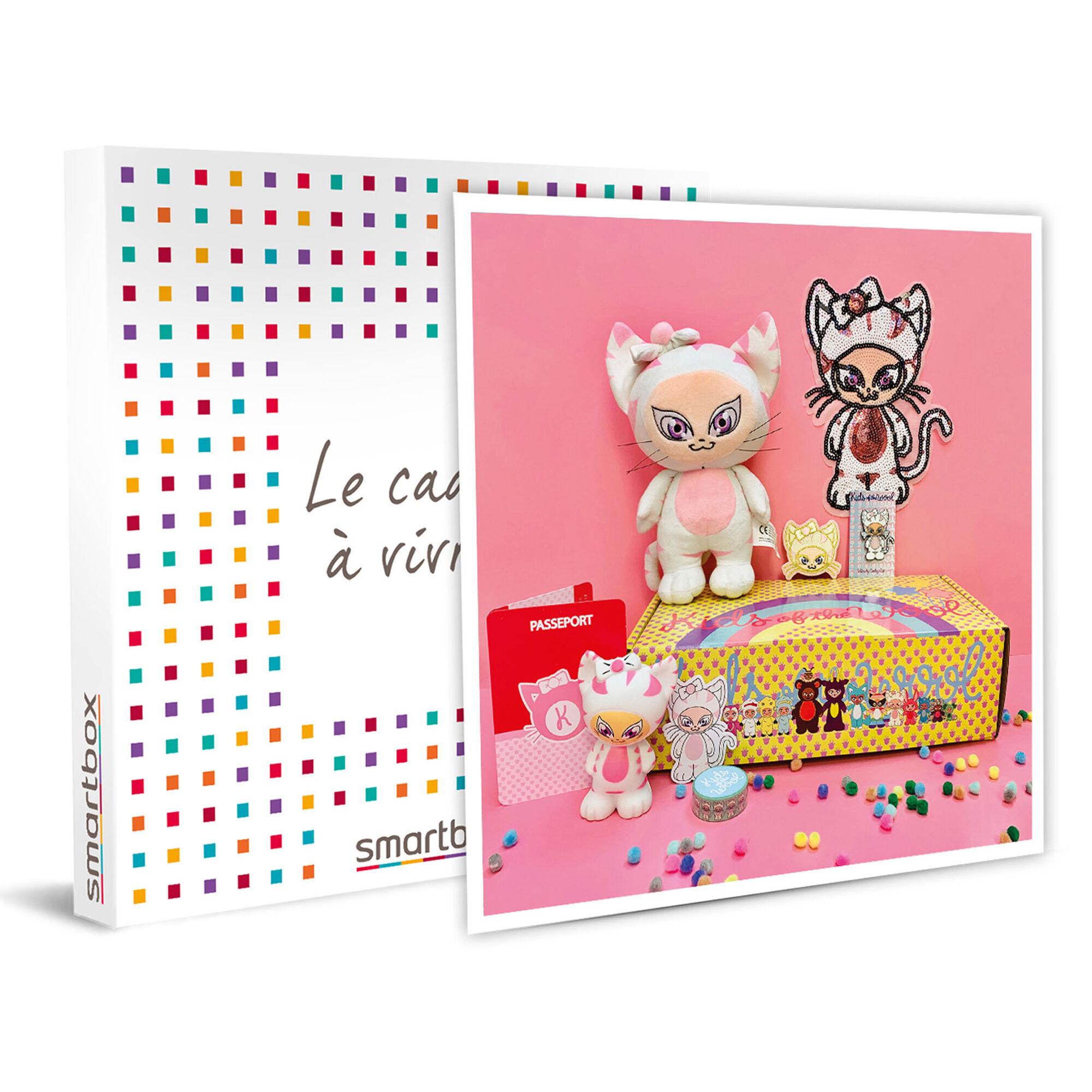 Smartbox Box Cathy Cat d'activités créatives et éducatives pour enfants Coffret cadeau Smartbox