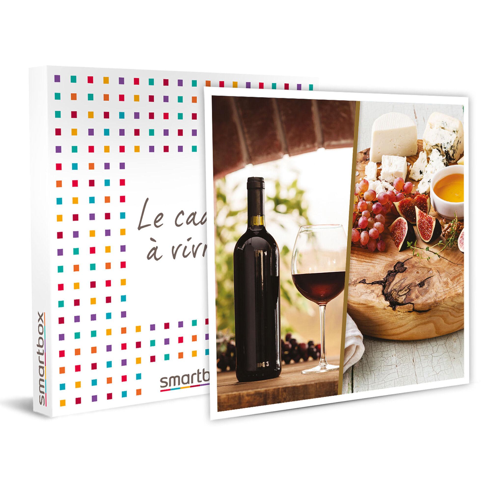 Smartbox Atelier œnologie et dégustation de fromages pour 2 épicuriens Coffret cadeau Smartbox