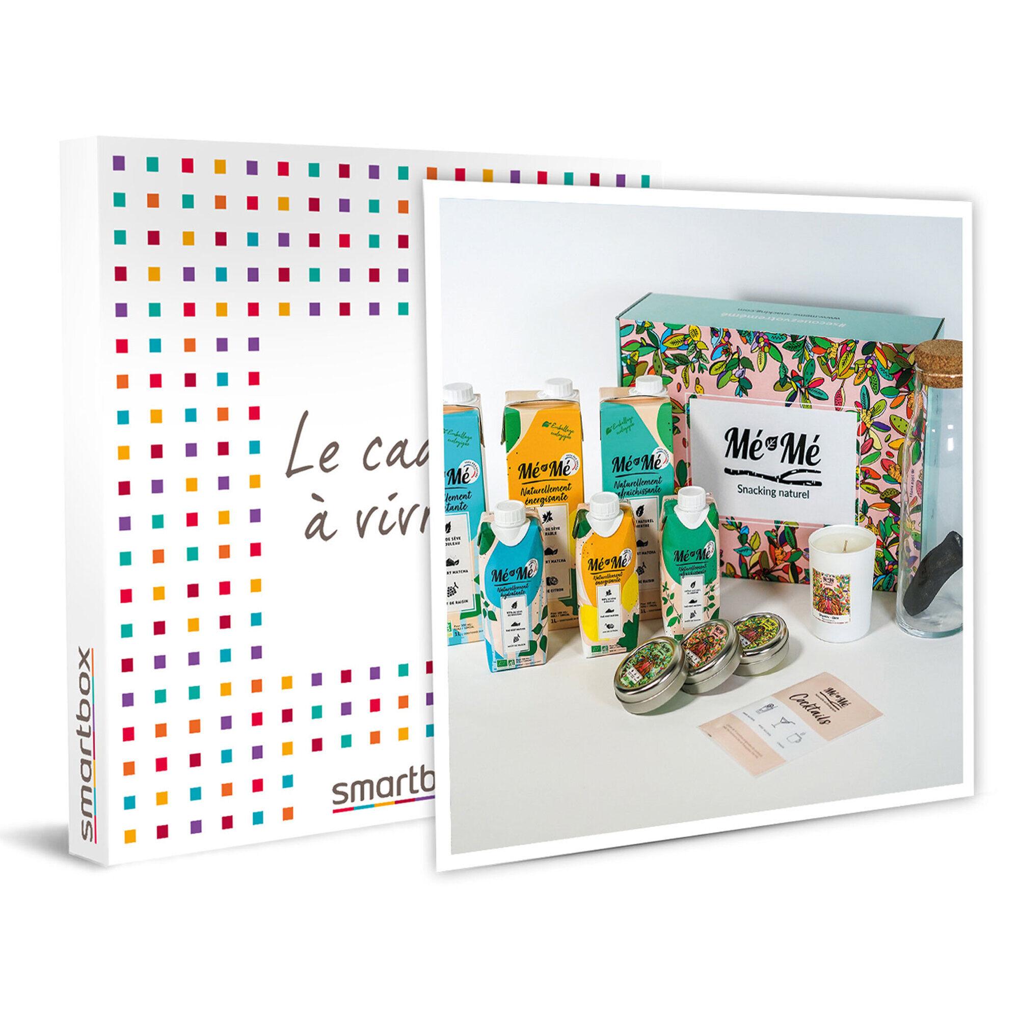 Smartbox Box de snacks, boissons et autres surprises 100 % française, bio et saine Coffret cadeau Smartbox