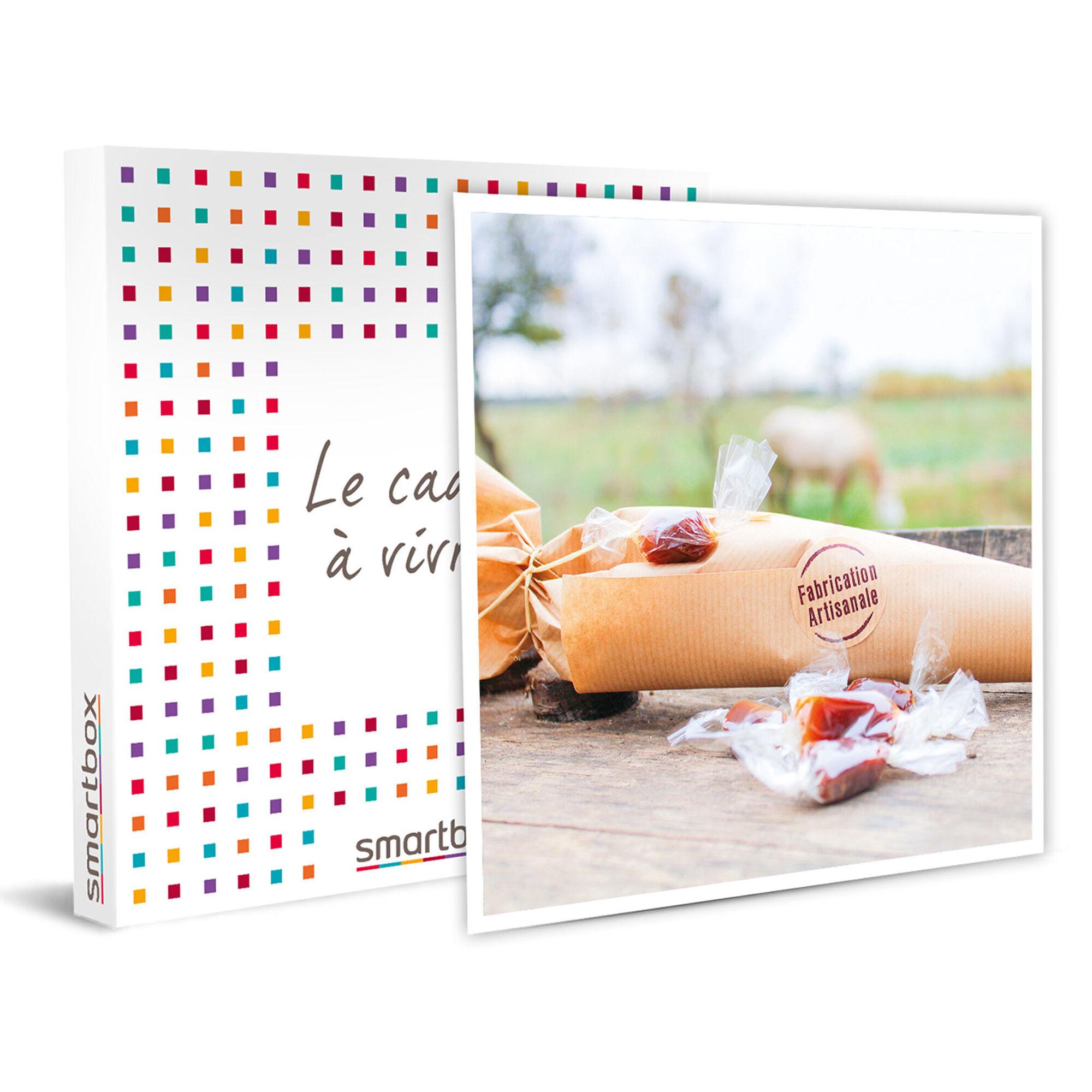 Smartbox Coffret sachets de caramels et savon naturel à base de lait de jument de Camargue Coffret cadeau Smartbox