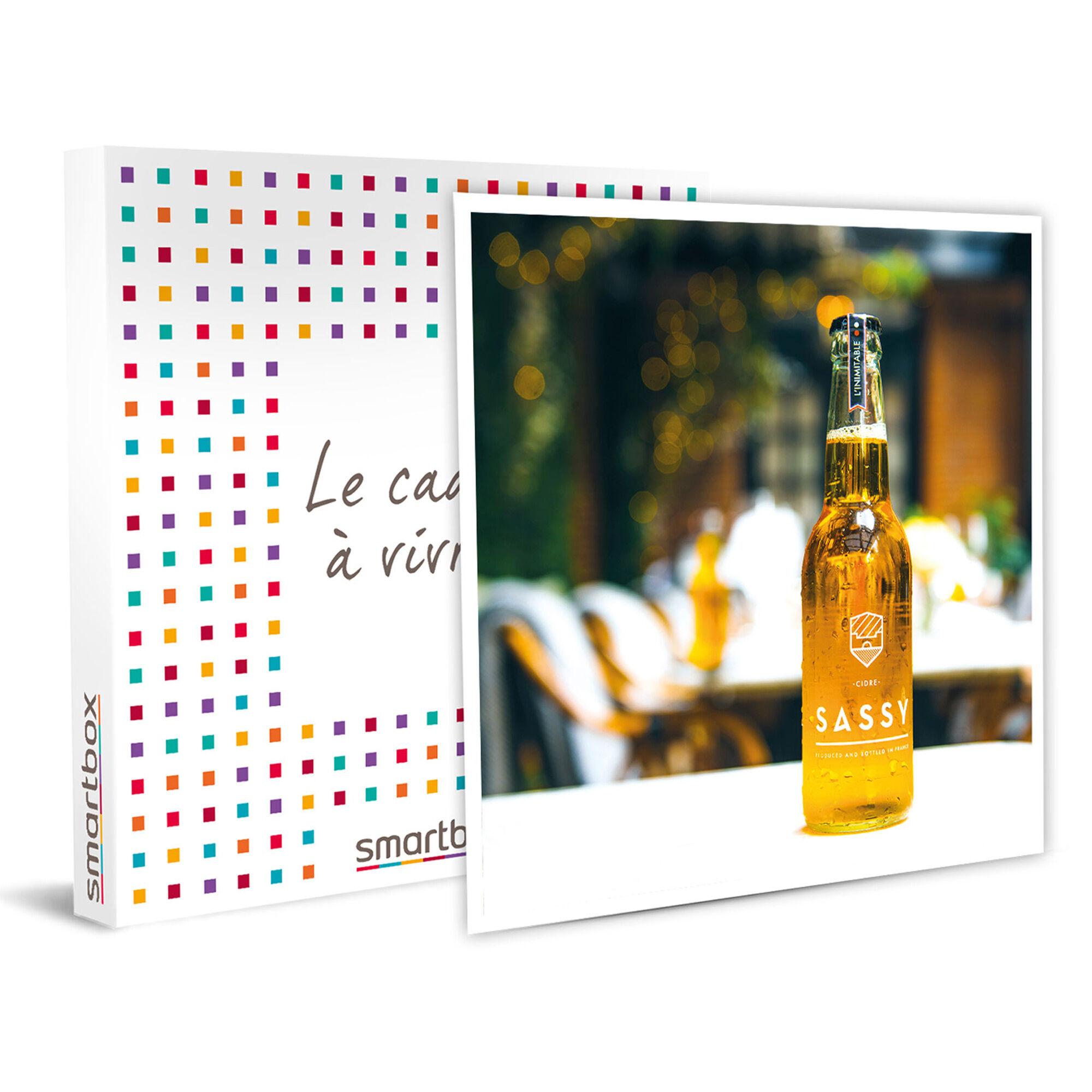 Smartbox Sélection 100 % normande de cidres, poiré ou jus de pomme Coffret cadeau Smartbox