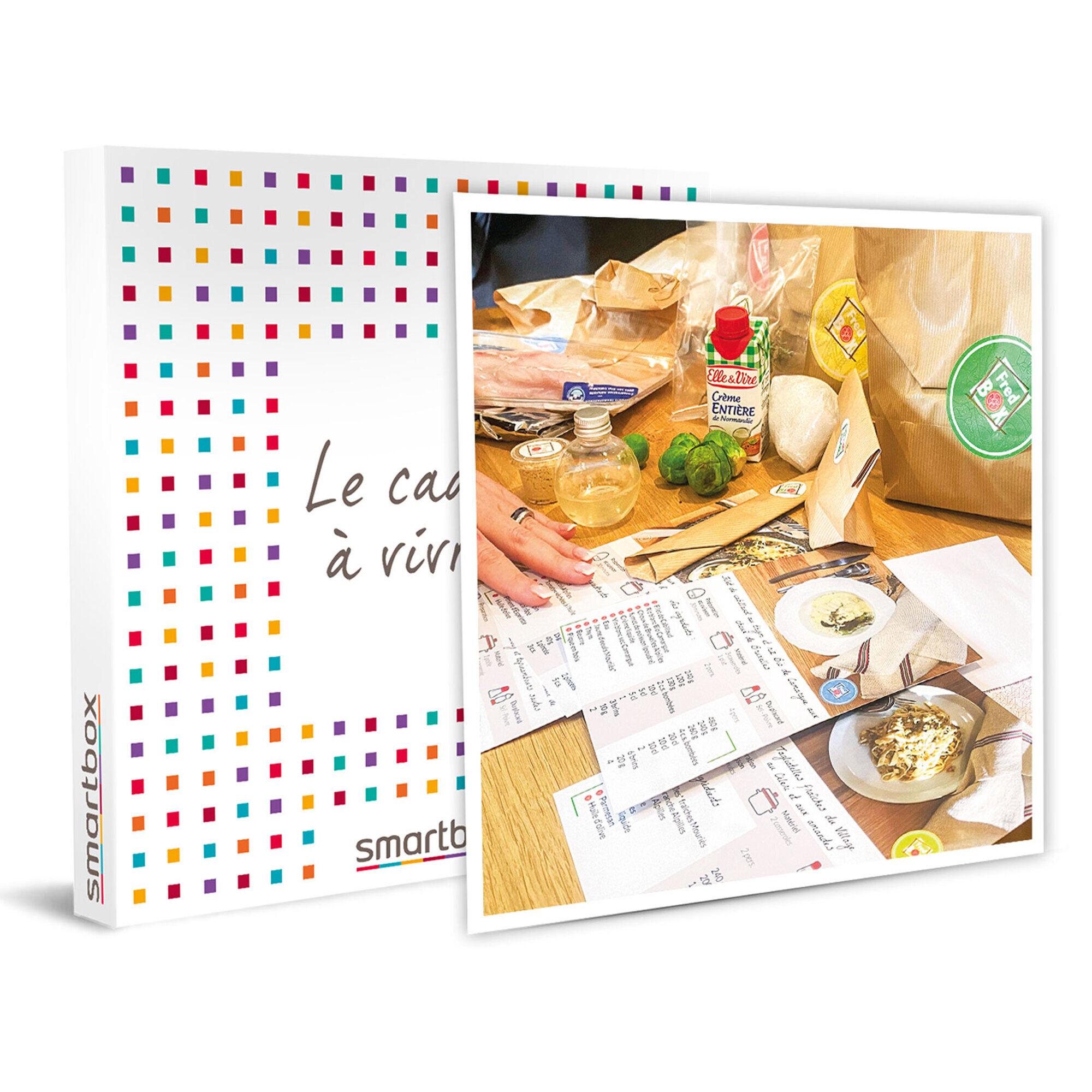 Smartbox Panier gourmet à découvrir à la maison Coffret cadeau Smartbox