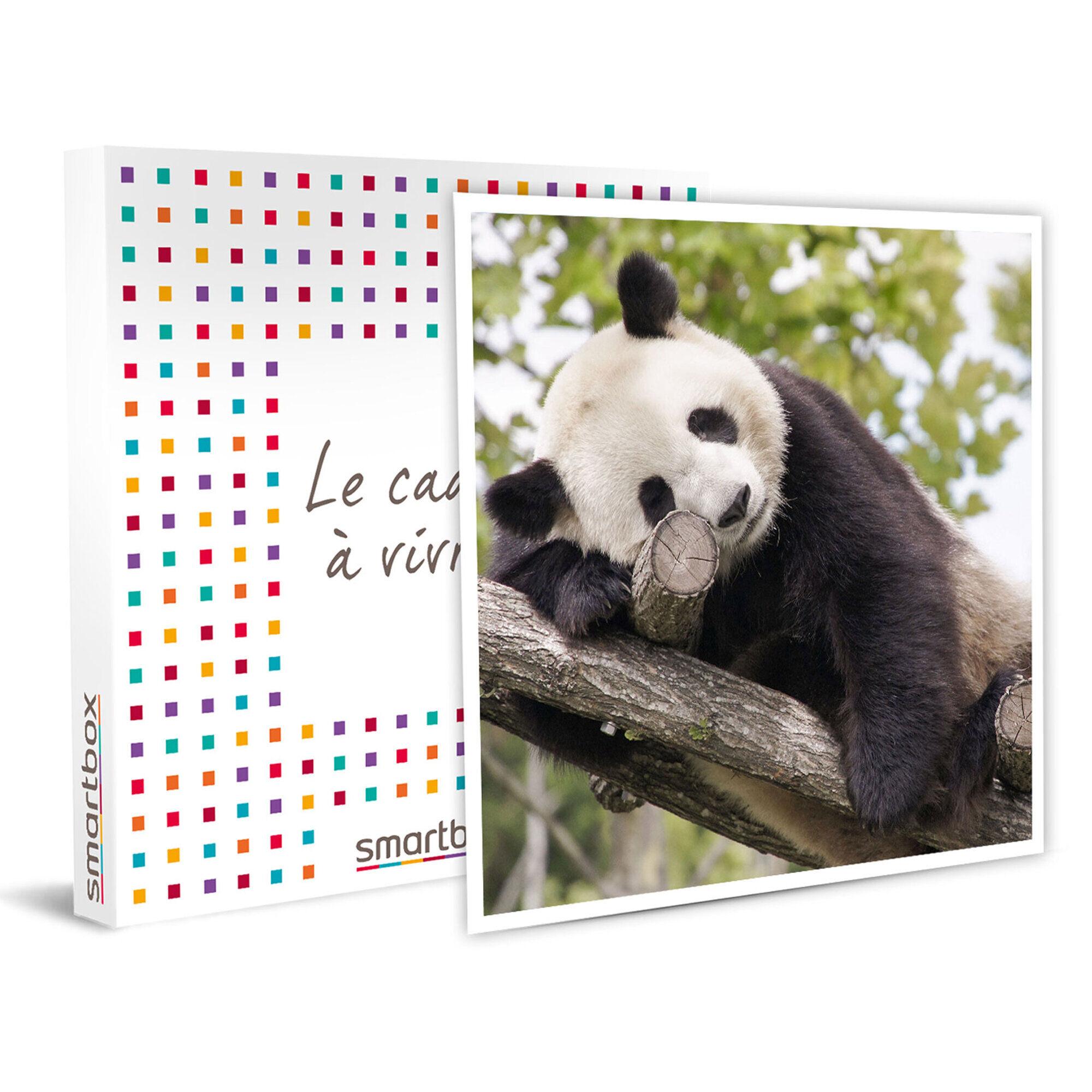 Smartbox Découverte du ZooParc de Beauval pour 2 adultes et 1 enfant Coffret cadeau Smartbox