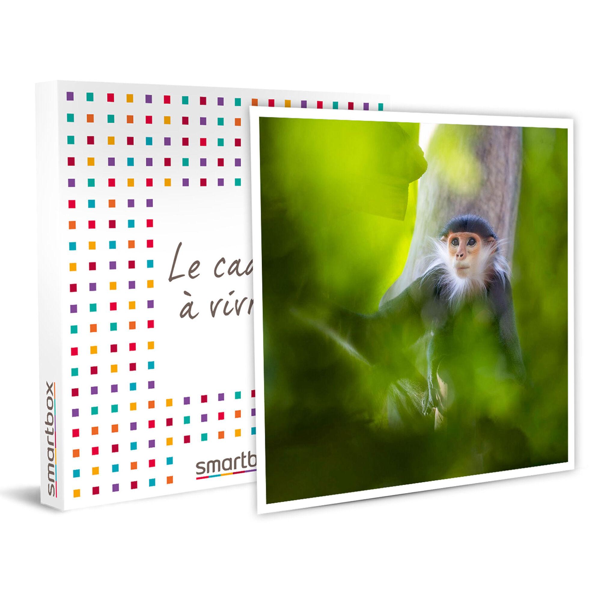 Smartbox Journée au ZooParc de Beauval en famille Coffret cadeau Smartbox