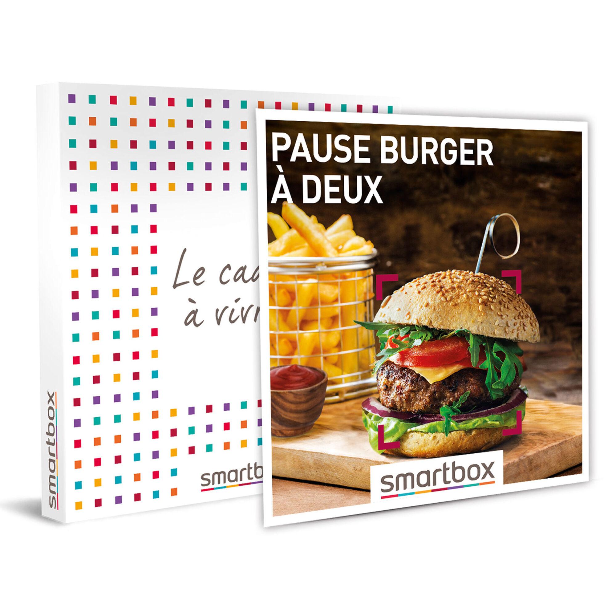 Smartbox Pause burger à deux Coffret cadeau Smartbox