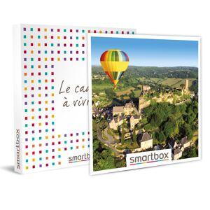Vol en montgolfière d'1h pour 8 personnes en nacelle privative, en Corrèze Coffret cadeau Smartbox - Publicité
