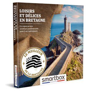 Loisirs et délices en Bretagne Coffret cadeau Smartbox - Publicité
