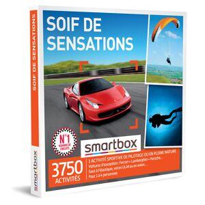 Soif de sensations Coffret cadeau Smartbox - Publicité