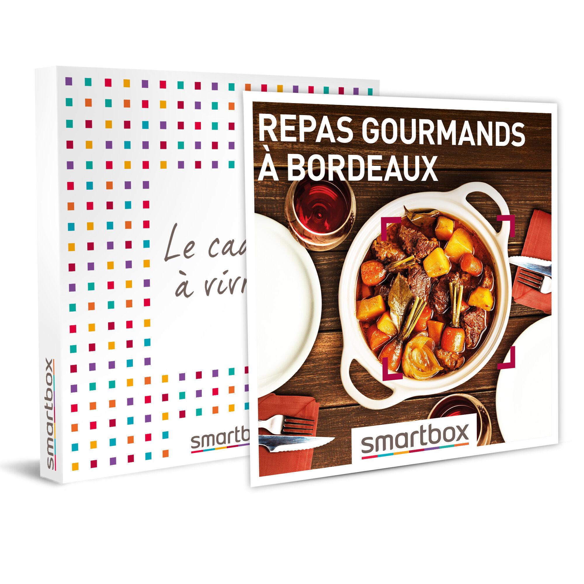 repas gourmands à bordeaux coffret cadeau smartbox