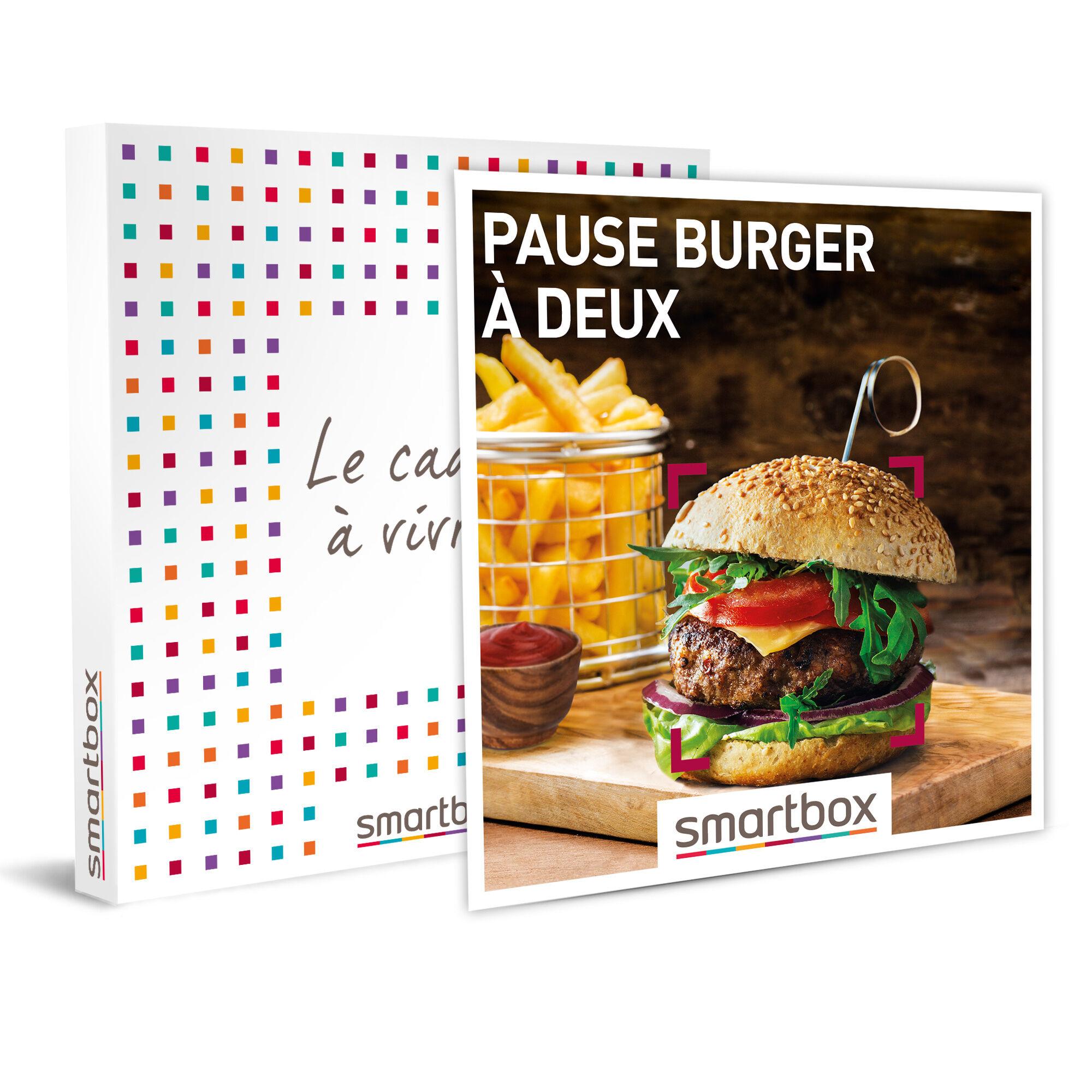 Pause burger à deux Coffret cadeau Smartbox