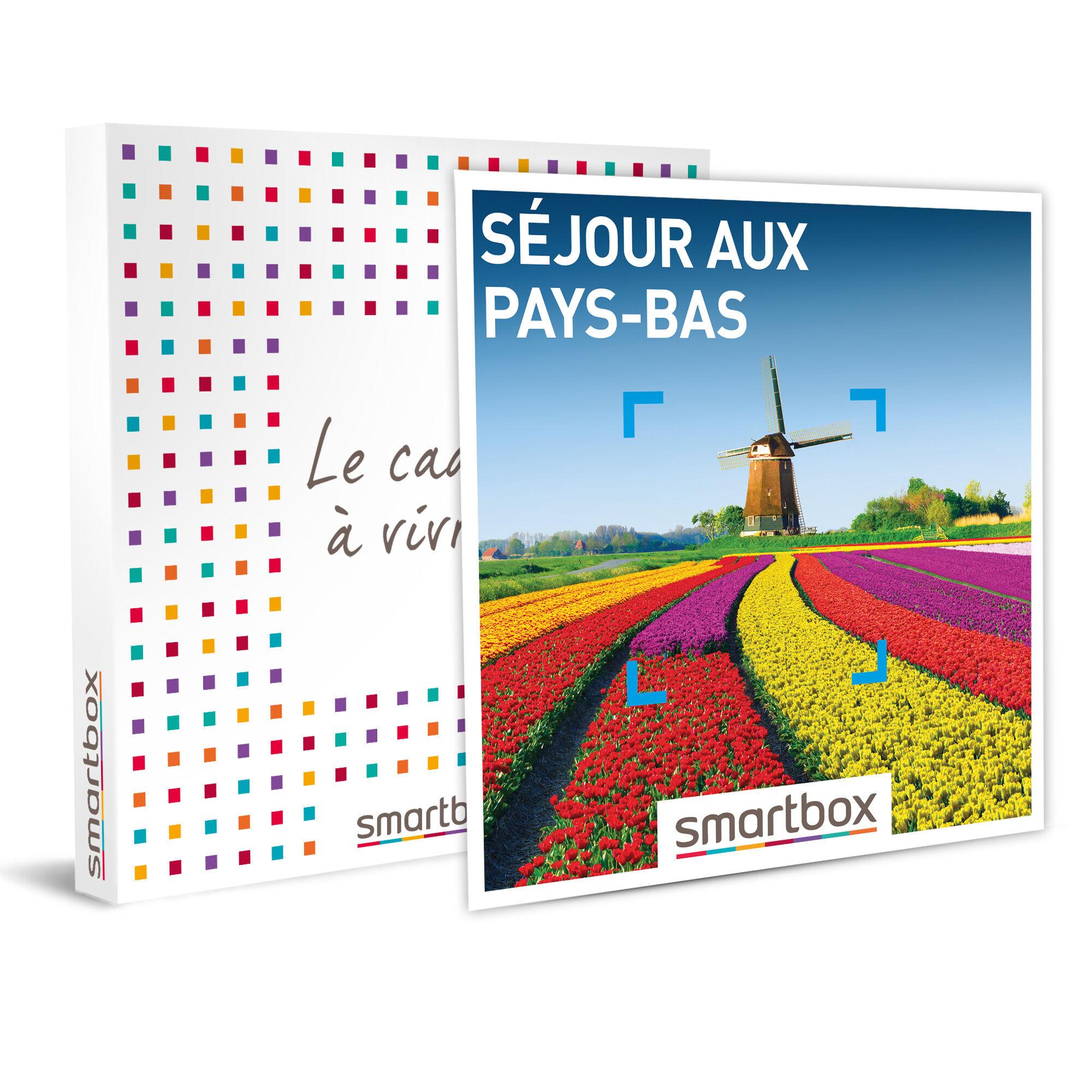 Séjour aux Pays-Bas Coffret cadeau Smartbox