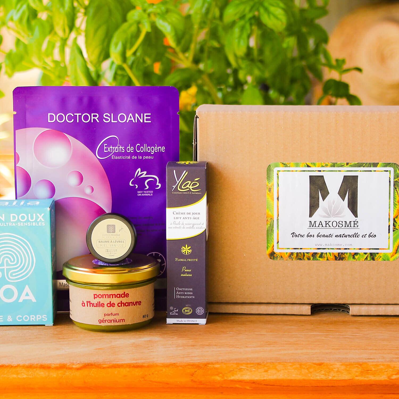 BIO + Coffret cosmétique bio personnalisé livré chez vous Coffret cadeau Smartbox