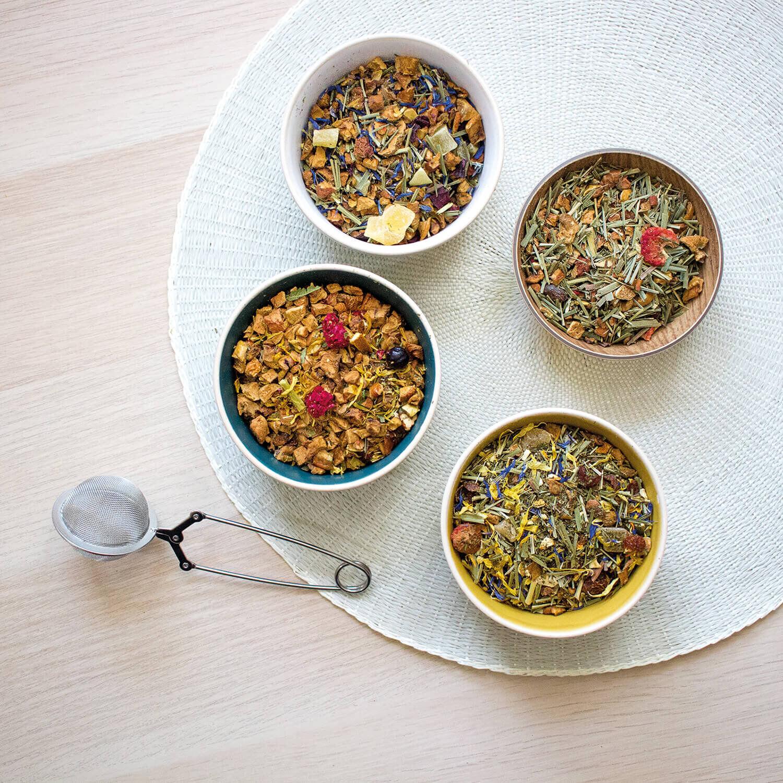 Pack fruité pour déguster des thés et infusions à domicile Coffret cadeau Smartbox