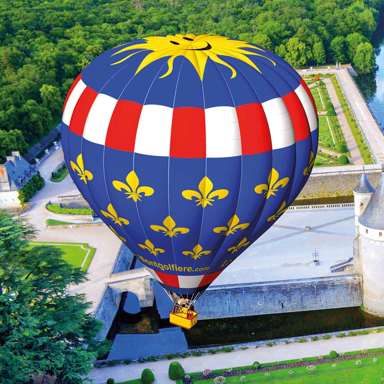 Vol en montgolfière d'1h avec collation à vivre à 2 Coffret cadeau Smartbox
