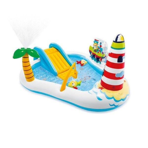 Intex Jeux piscine Aire de jeux gonflable Sea Paradise - Intex