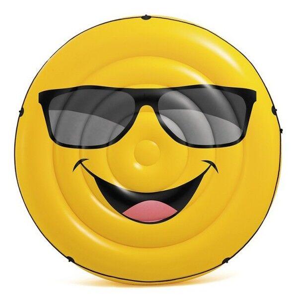 Intex Jeux piscine Île gonflable Smiley - Intex