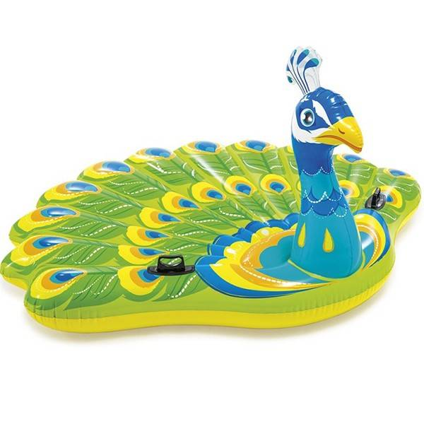Intex Jeux piscine Île gonflable Paon - Intex