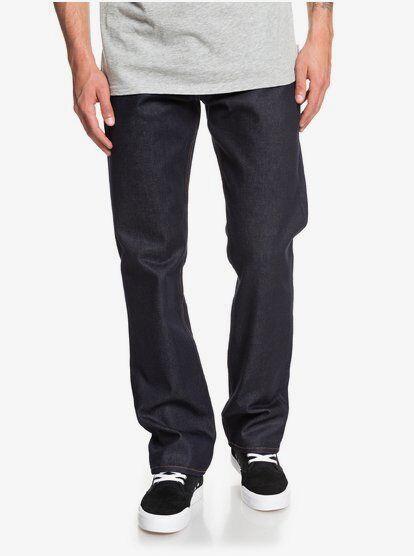 Quiksilver Sequel Rinse - Jean Straight fit pour Homme - Bleu - Quiksilver