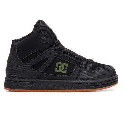5bac878287e54 DC Shoes Pure High WNT - Chaussures montantes pour Garçon - Noir - DC Shoes