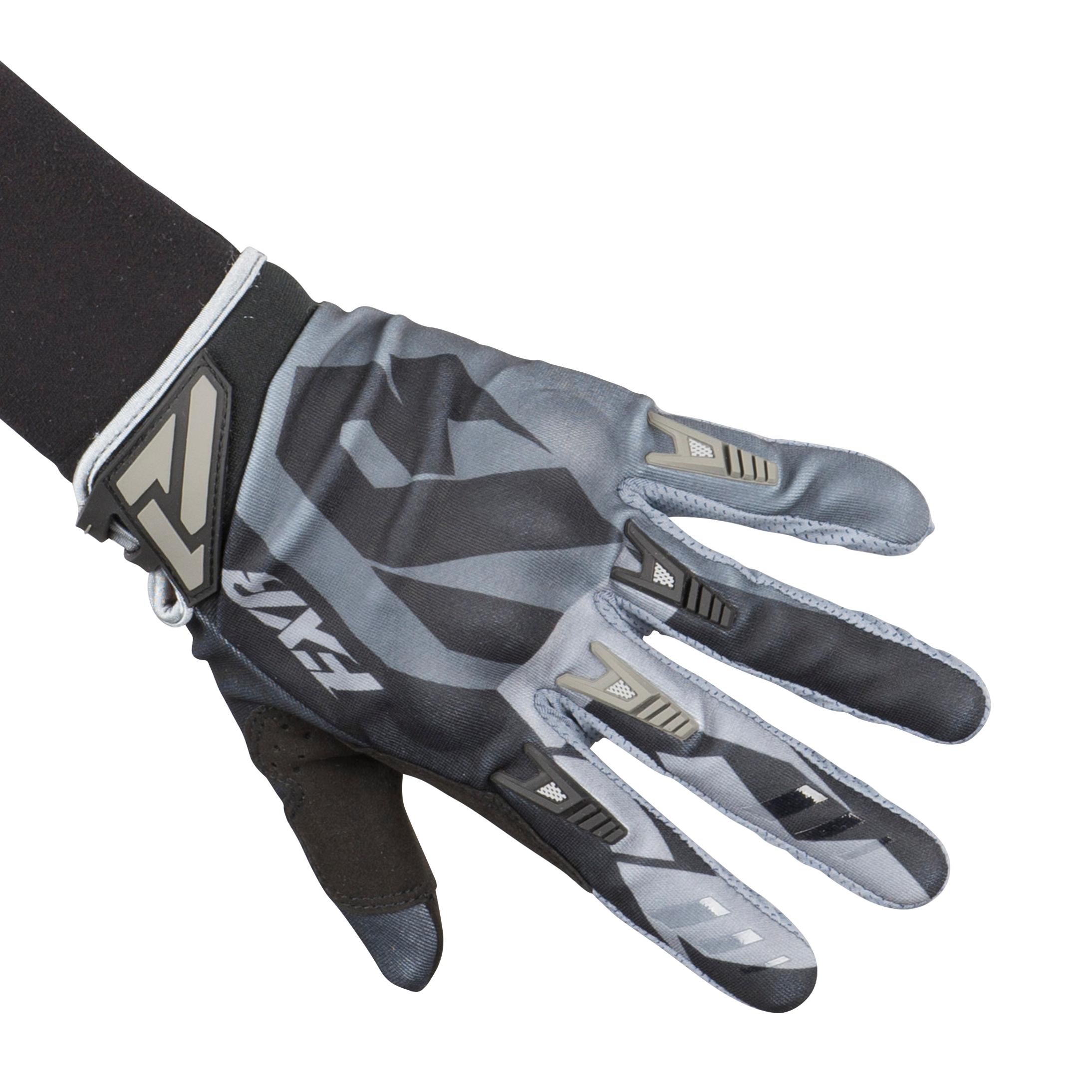 FXR Gants Cross FXR Factory Ride Adjustable Armor - Noir