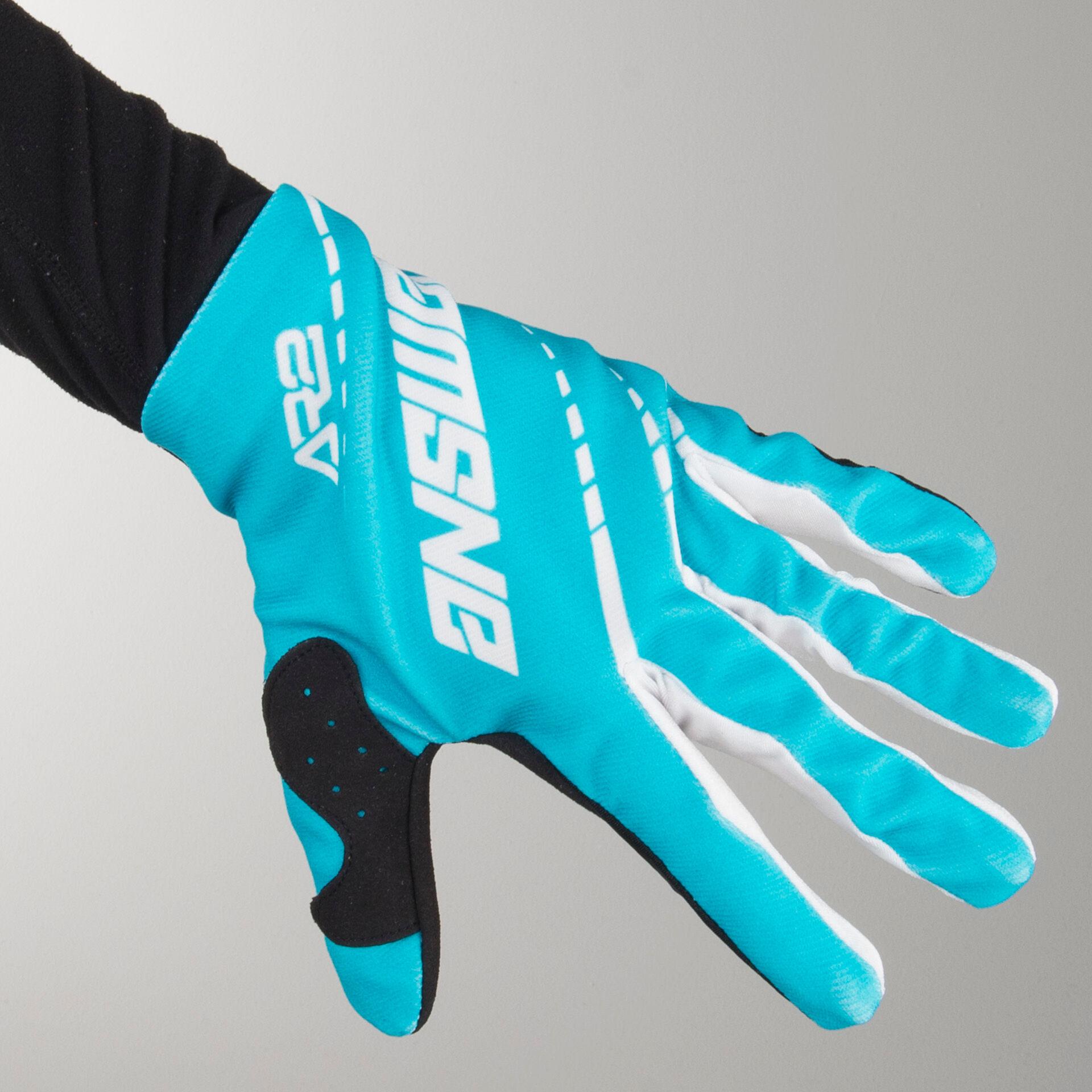 Answer Racing Gants Cross Answer AR2 - Turquoise