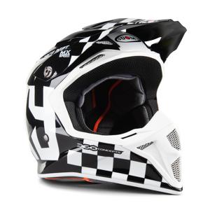 Suomy Casque Cross Suomy MX Speed Master MIPS Noir-Blanc - Publicité