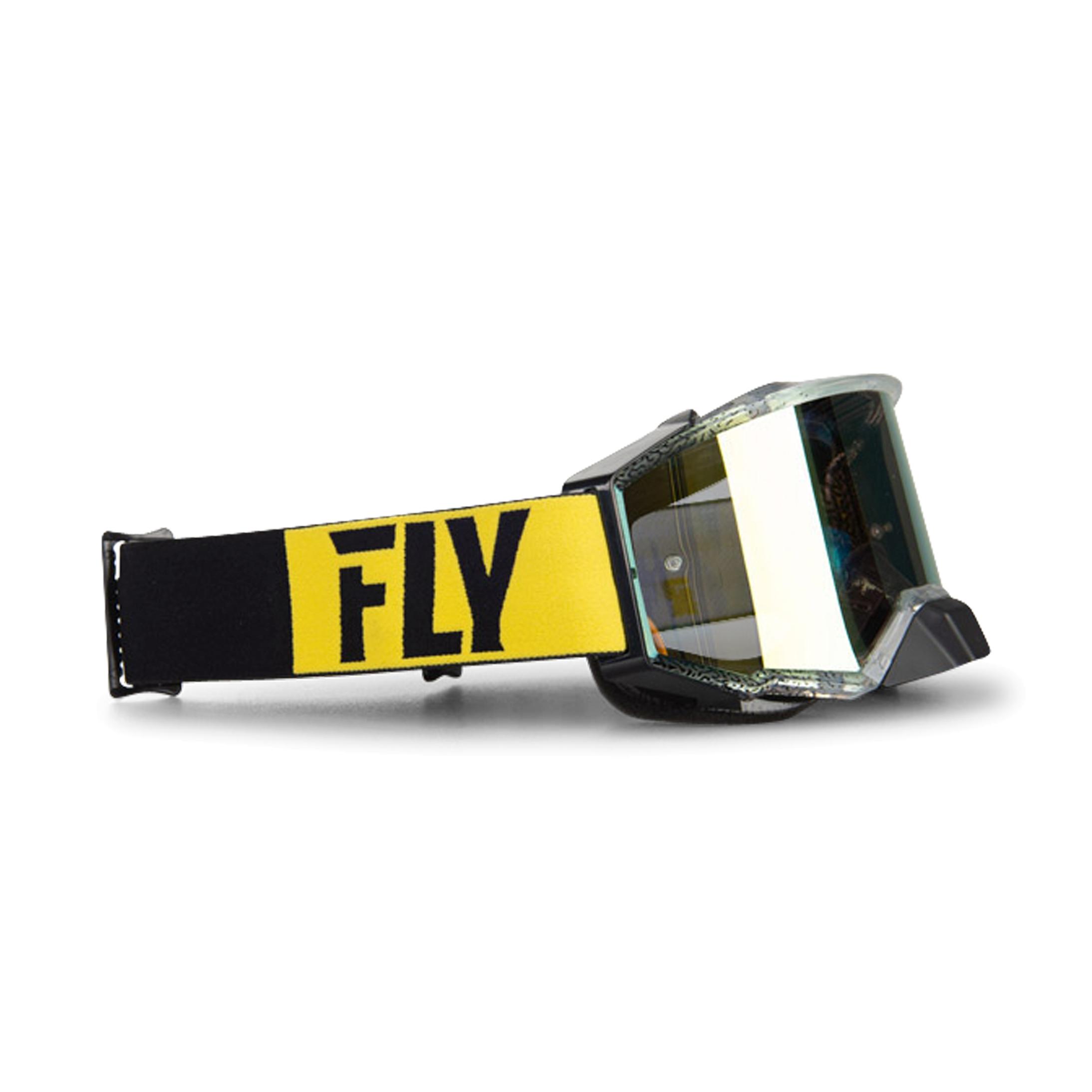 FLY Racing Masque Cross FLY Zone Pro - Noir et Jaune