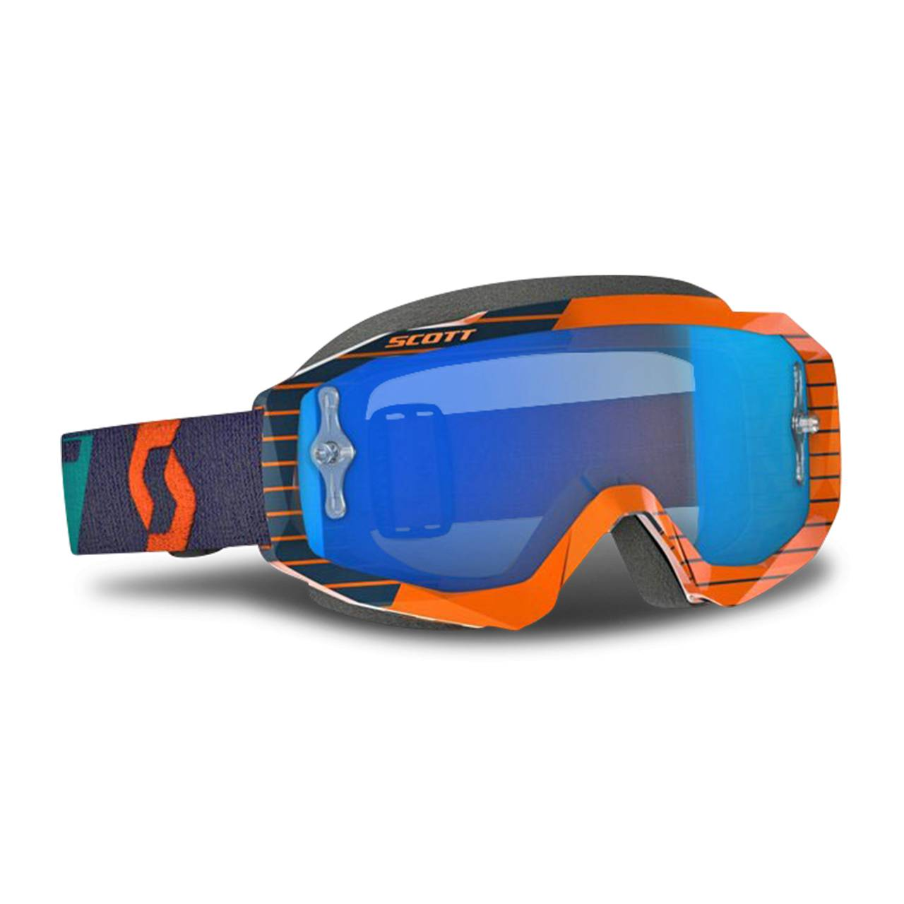 Scott Masque Cross Scott Hustle Orange-Bleu