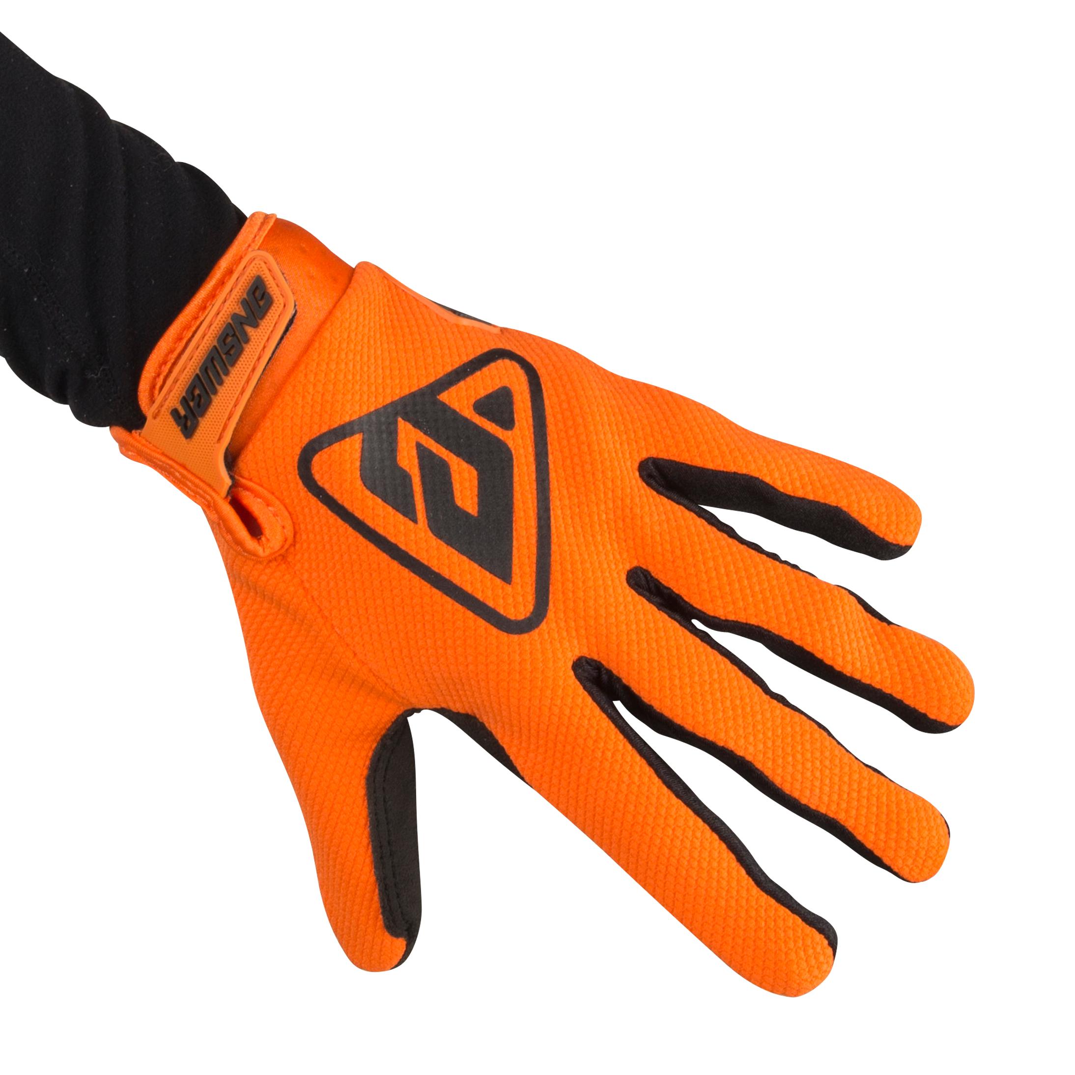 Answer Racing Gants Cross Answer AR3 - Orange et Noir
