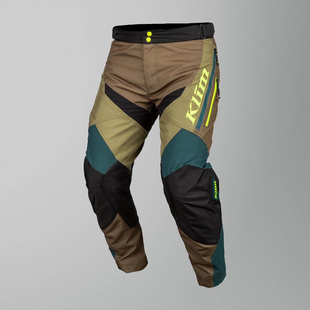 KLIM Pantalon Cross Klim Dakar In-The-Boot Vert