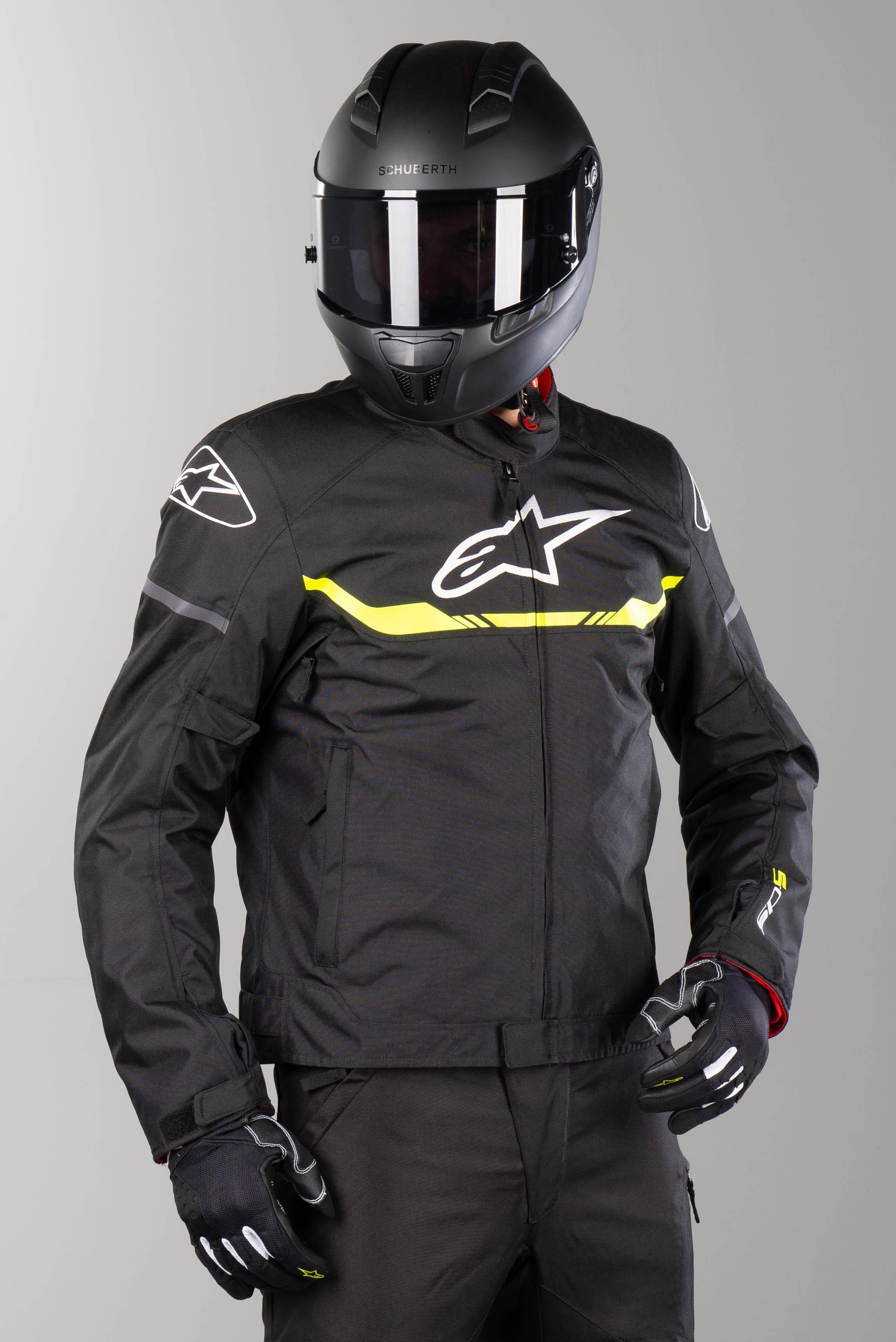 Alpinestars Blouson Moto Alpinestars T-SPS WP Noir-Jaune Fluo 4XL 64