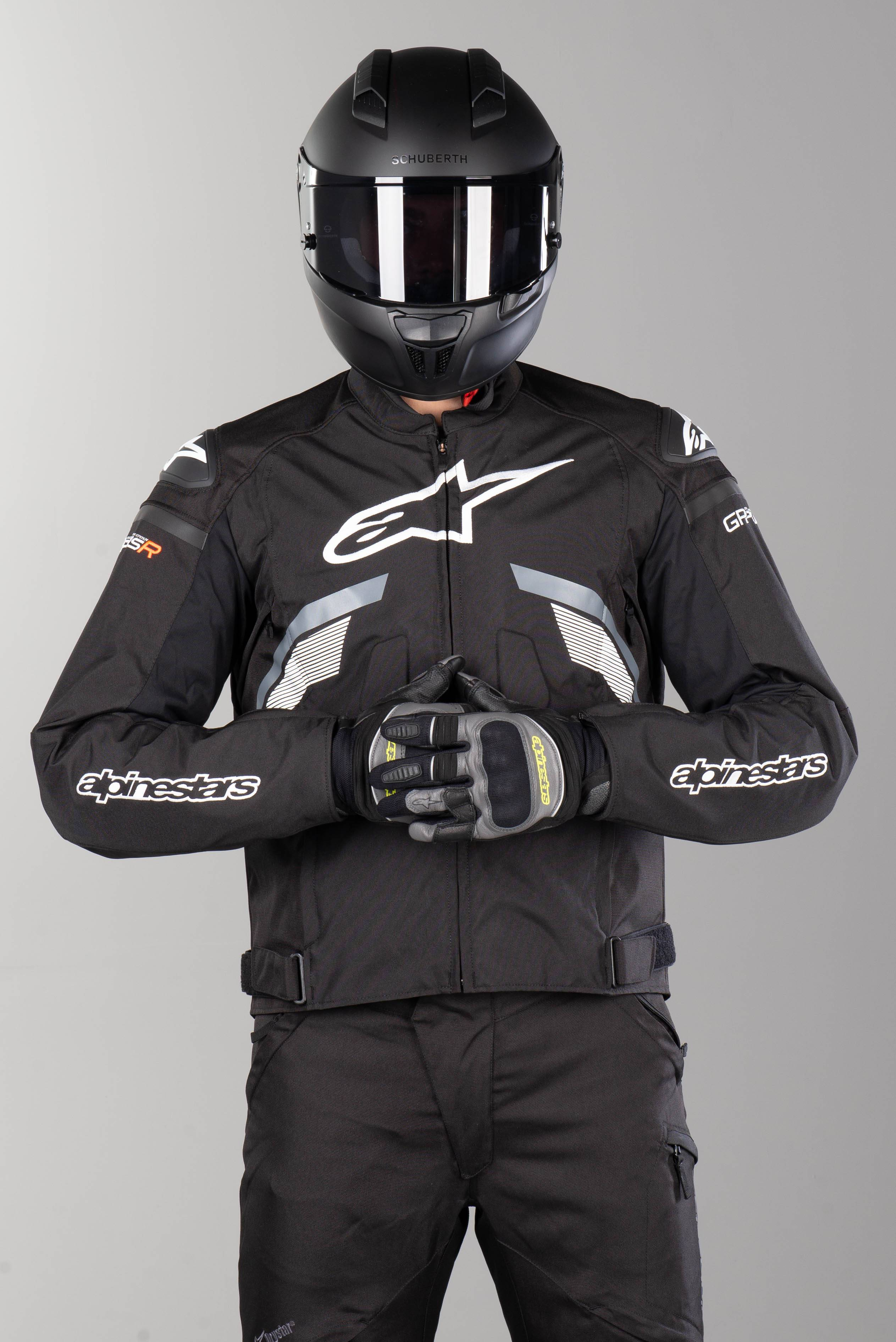 Alpinestars Blouson Moto Alpinestars T-GP Plus R V3 Noir-Gris-Blanc 4XL 64