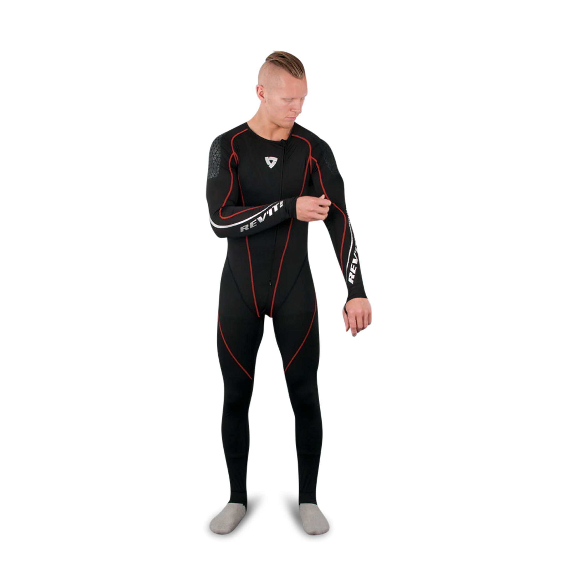 REVIT! Combinaison Sous-vêtements Sports Excellerator Noire M
