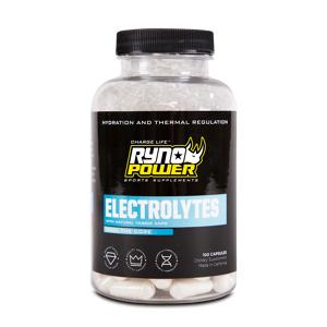 Ryno Power Complément Ryno Power Electrolytes 100 Gélules - Publicité