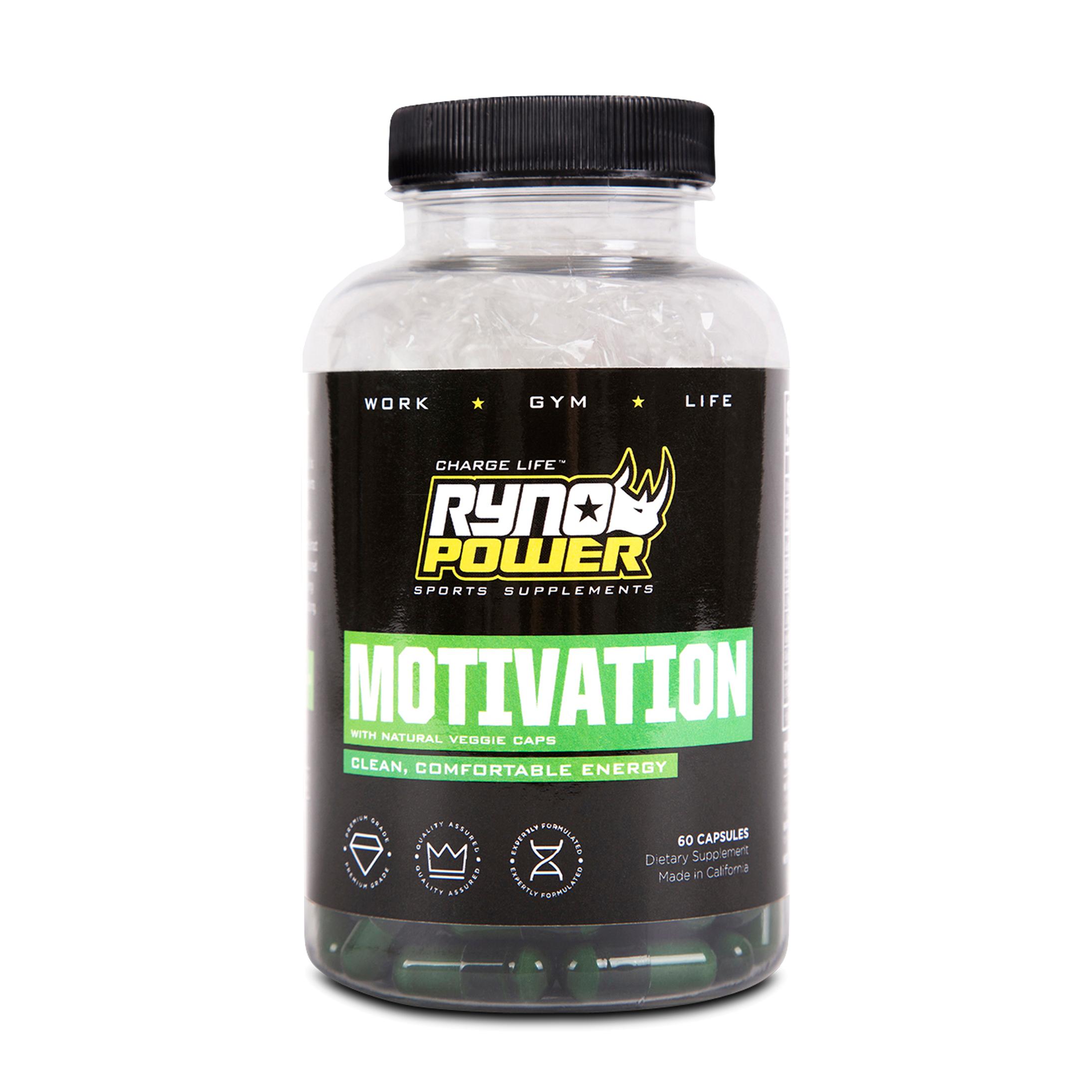 Ryno Power Motivation 60 Capsules