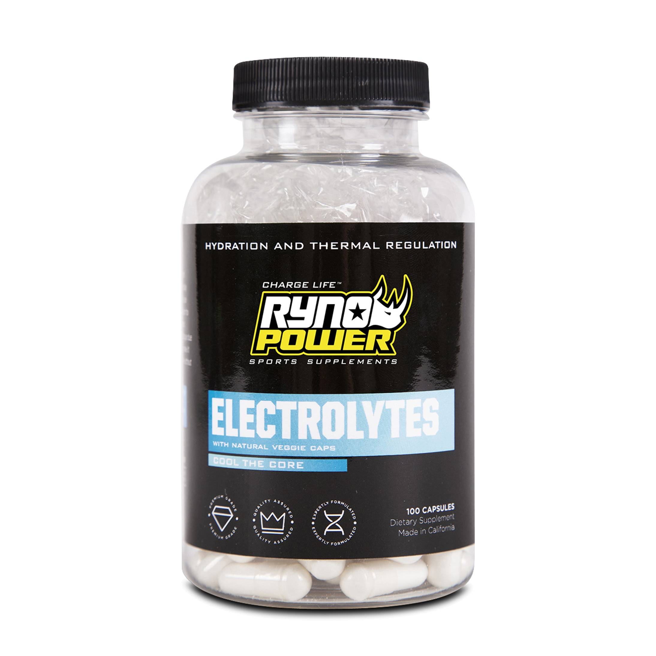 Ryno Power Complément Ryno Power Electrolytes 100 Gélules
