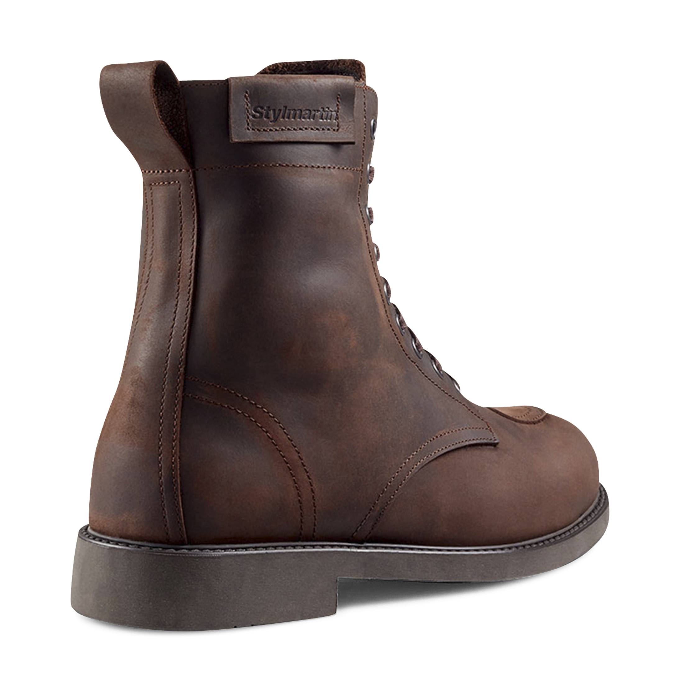 Stylmartin Chaussures Moto Stylmartin District WP Marron 42