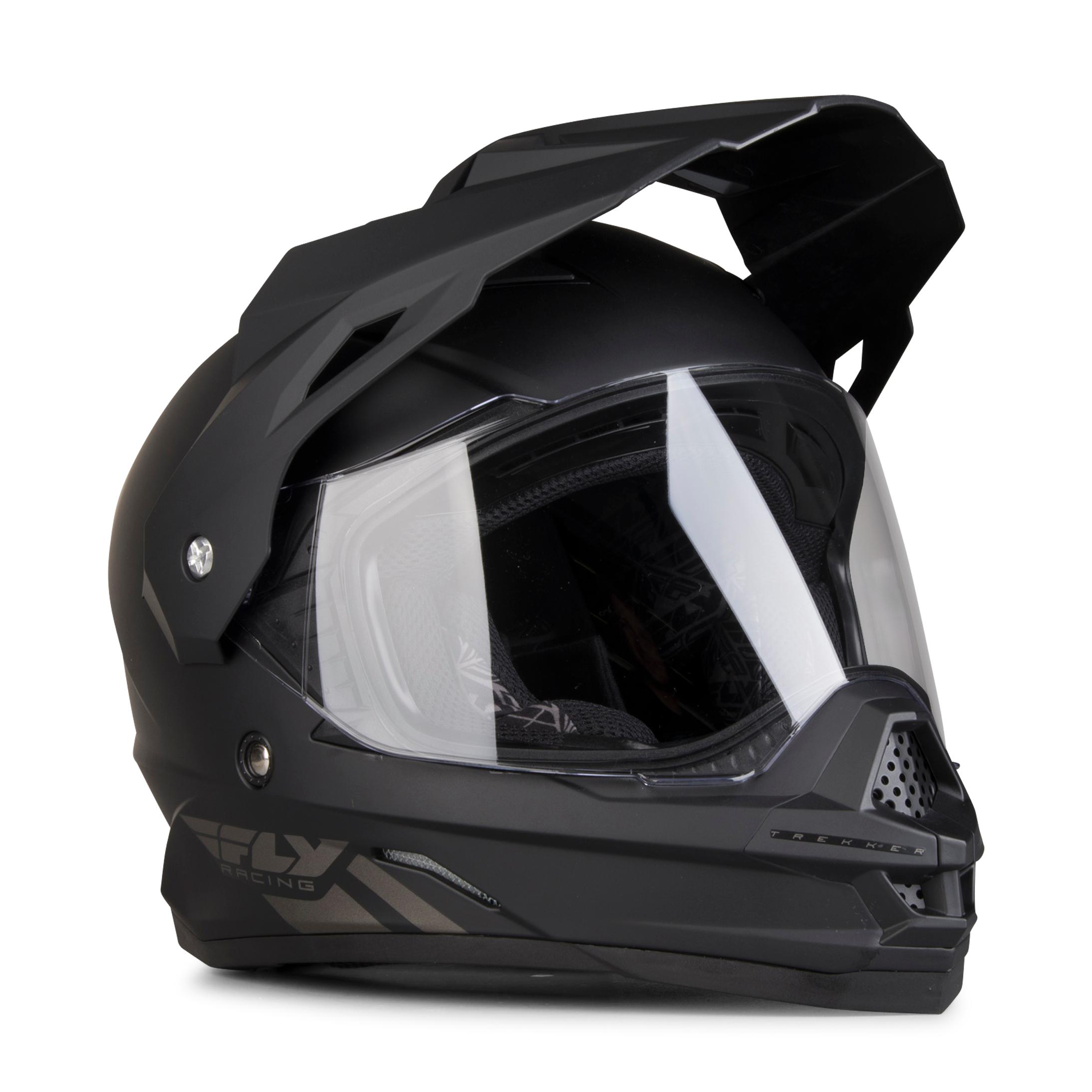 FLY Racing Casque Aventure FLY Trekker - Noir mat S 55-56cm
