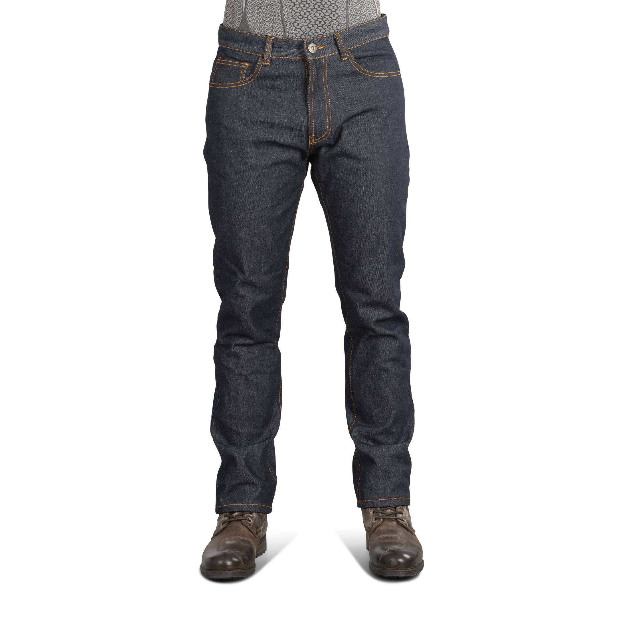 Course Jean Moto Course Heavy Duty Anti-Fit Raw Denim W34 L32