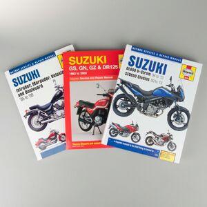 Haynes Guide de réparation Haynes Suzuki spécifique par modèle - Publicité