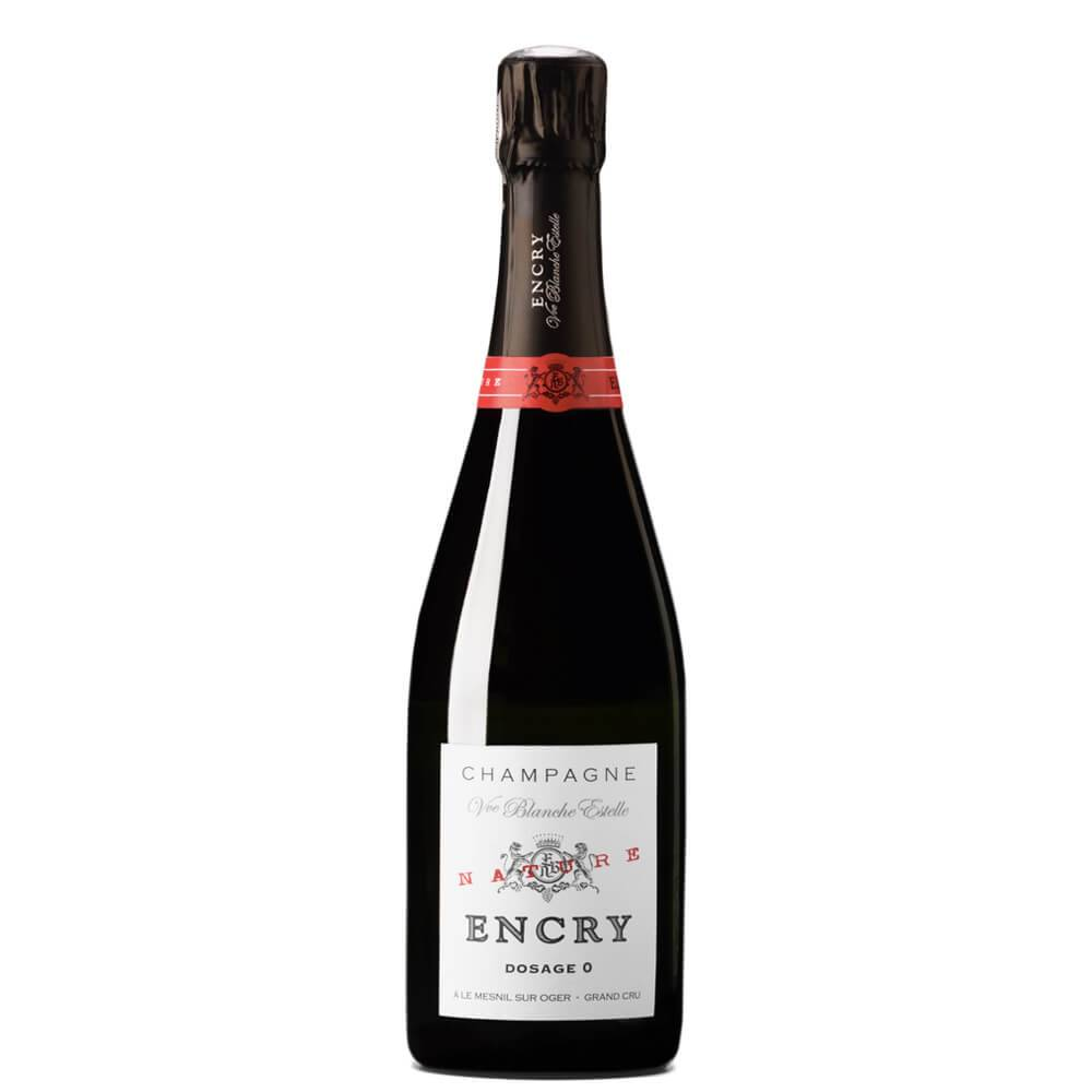 """Vue Blanche Estelle Champagne Dosage Zéro Blanc De Blancs Grand Cru """"encry Grande Cuvée"""""""