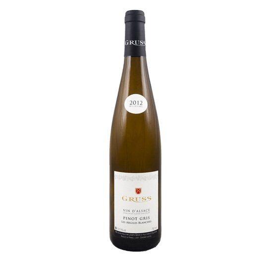 """Gruss Alsace Pinot Gris """"les Argiles Blanches"""" 2019"""