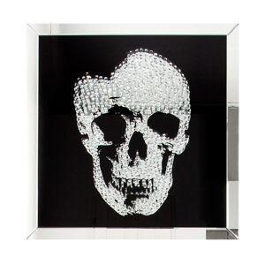 gdegdesign Cadre miroir tableau design tête de mort - Howell - Publicité
