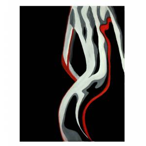 gdegdesign Tableau peinture design femme 60x90 cm - Nina - Publicité