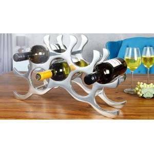 gdegdesign Porte-bouteilles design aluminium poli - Bruder - Publicité