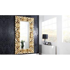 gdegdesign Miroir baroque avec ornement volute or doré - Chester - Publicité