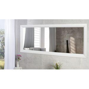 gdegdesign Grand miroir design rectangulaire laqué blanc - Clyde - Publicité