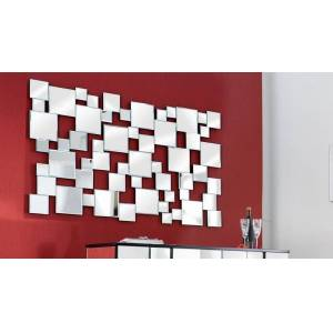 gdegdesign Miroir design rectangulaire à facette - Ludwig - Publicité