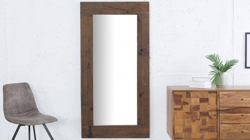 gdegdesign Miroir design rectangulaire cadre bois - Cléo