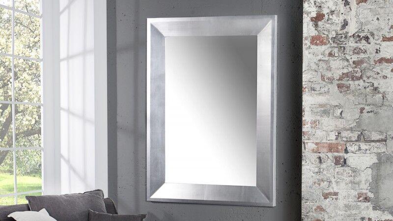gdegdesign Miroir design baroque gris argenté - Livio